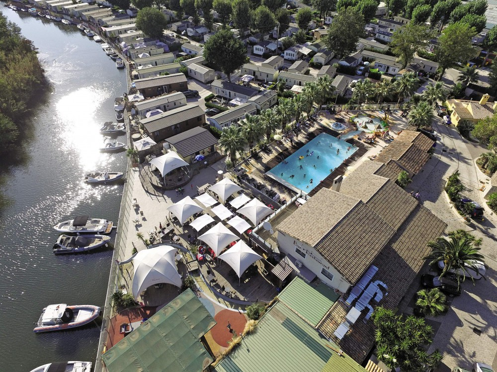 Camping Holiday Marina Resort an der Côte d'Azur